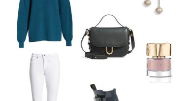 how to wear white jeans in winter 390x205 - How to Wear White Jeans in Winter