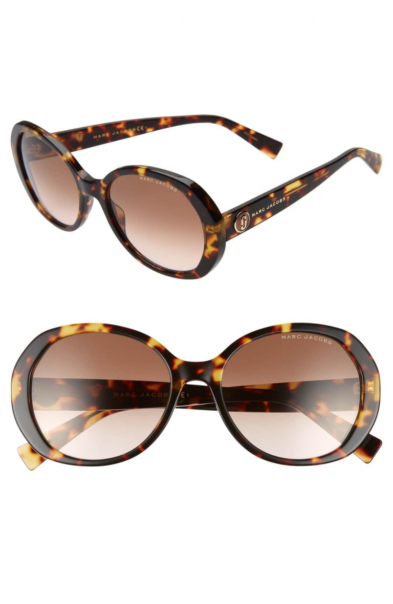 Marc Jacobs Round Sunglasses 768x1178 - From Daytime To Date Night—A Polished Way To Layer A Long Cardigan