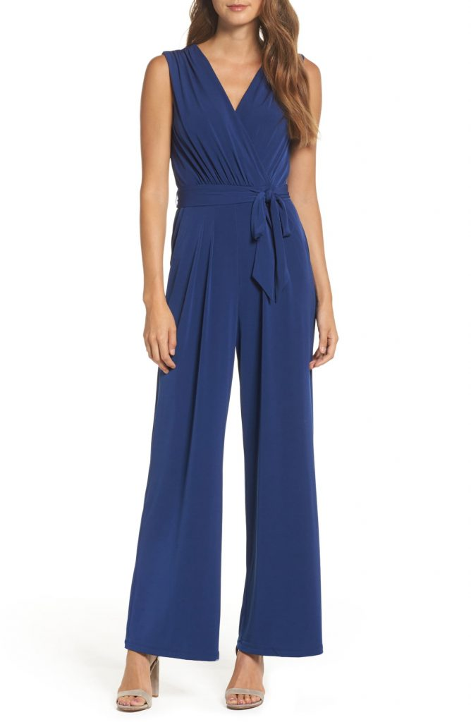 8 Faux Wrap Midi Jumpsuit​ 668x1024 - A Dress For Every Occasion