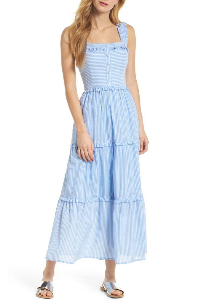 Courtney Rio Striped Lawn Maxi Dress 668x1024 - Home
