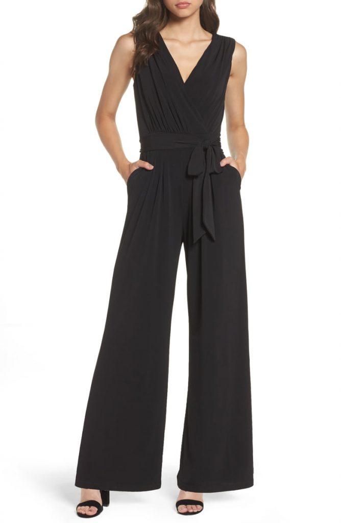 Faux Wrap Jersey Jumpsuit 668x1024 - Home