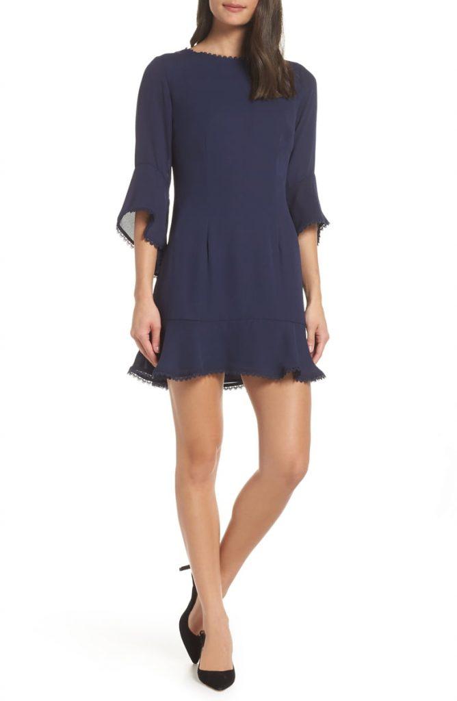 Flounce Hem Crepe Dress 668x1024 - A Dress For Every Occasion