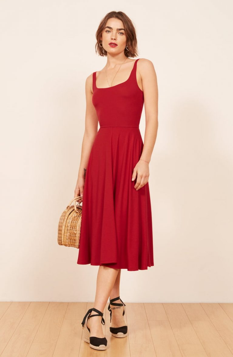 Rou Midi Fit Flare Dress 768x1178 - A Dress For Every Occasion