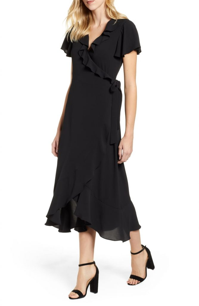 Ruffle Wrap Dress 668x1024 - A Dress For Every Occasion