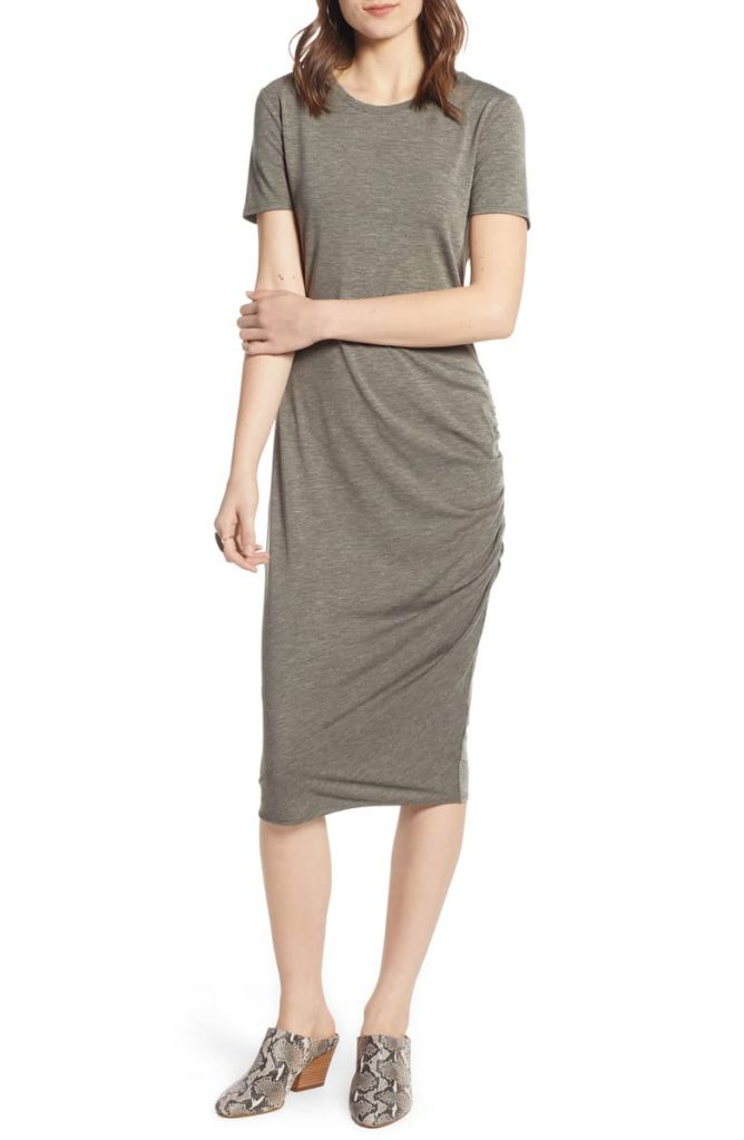 Side Ruched Body Con Dress 668x1024 - Home