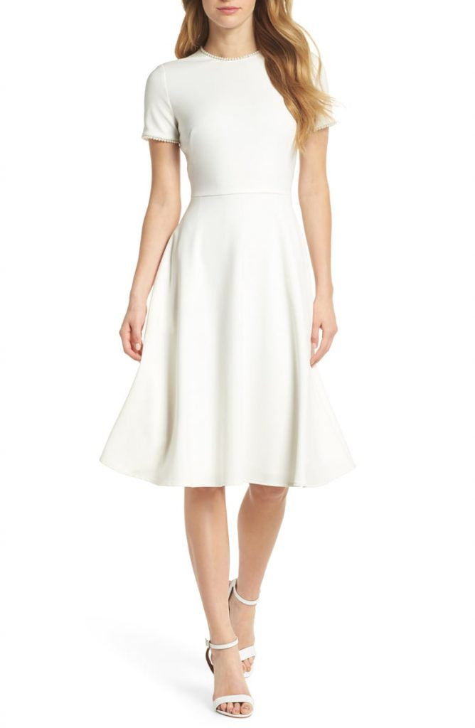 Victoria Pearly Trim Fit Flare Dress 668x1024 - Home