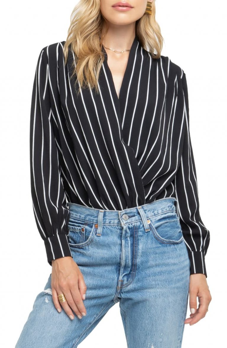 Bold Striped Beauty by ASTR 768x1178 - 10 Cool Casual Tops For Women