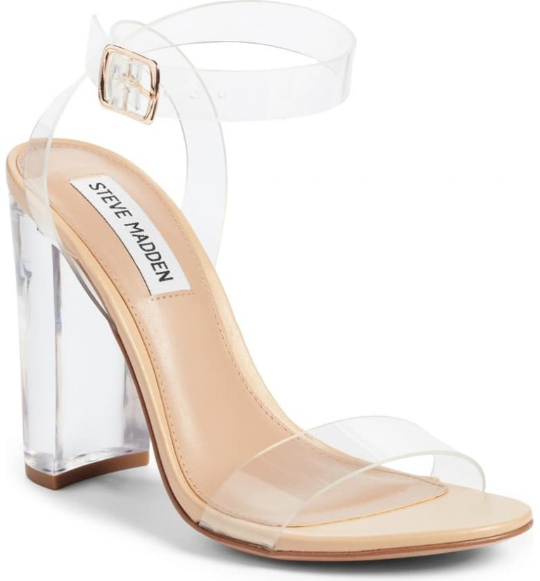 Steve Madden's Camille Clear Shoe 768x825 - 9 Sandals Every Woman Needs In Her Wardrobe