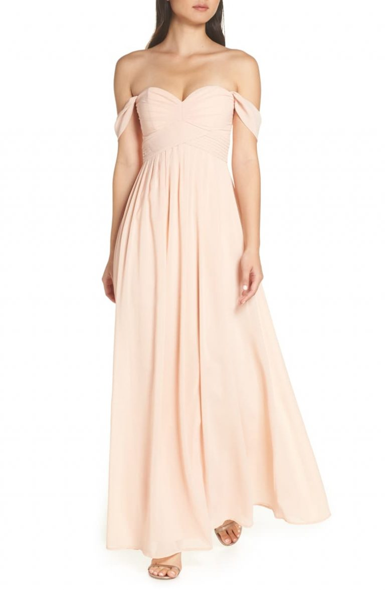 LULUS – Convertible Neckline Chiffon Gown 768x1178 - Top 7 Formal Dresses You Should Know About