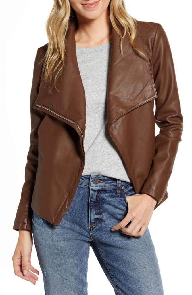 The BB Dakota Up to Speed Faux Leather Moto Jacket 668x1024 - Home