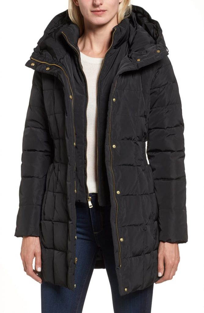 The Cole Haan Hooded Down Feather Jacket 668x1024 - Home