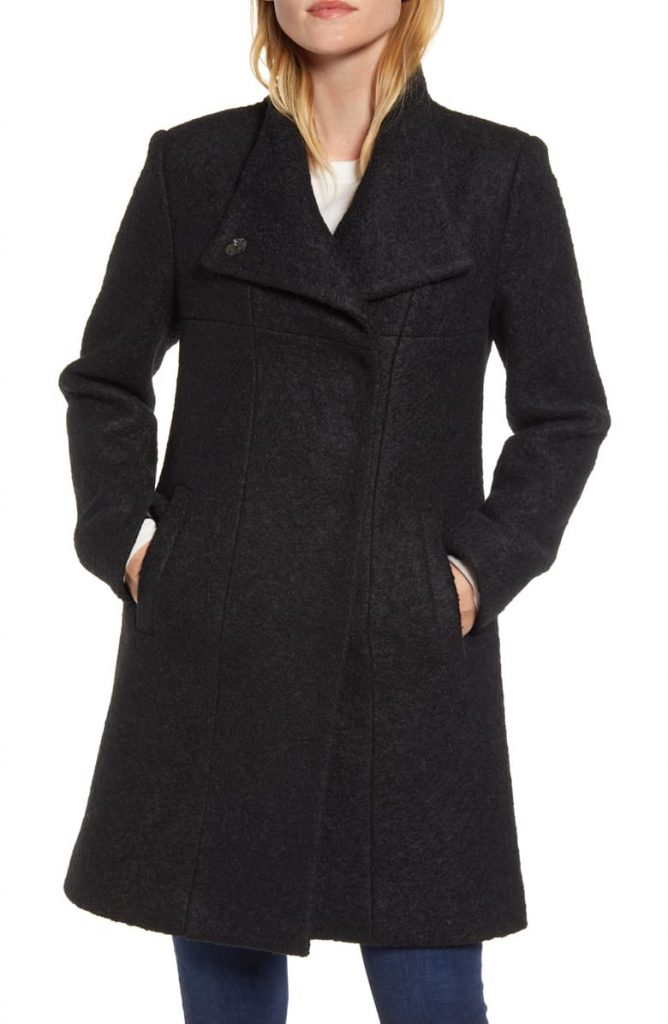 The Kenneth Cole Wool Blend Bouclé Coat 668x1024 - Home