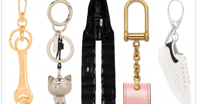 12 Amazing Fashion Accessories Ranging from Keyrings to Scarves 390x205 - 12 Amazing Fashion Accessories Ranging From Keyrings To Scarves