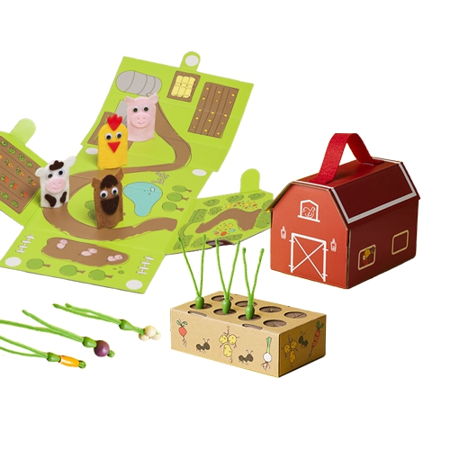 6633 - 8 Children's Crate & DIY Toys For Improving Craft And Enginee