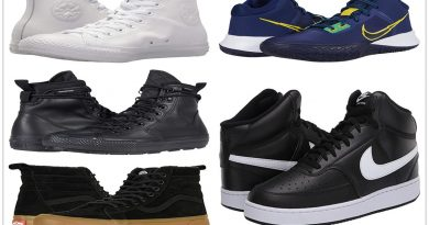 7 HIGH TOP SNEAKERS FOR A COMFORTABLE PATH 390x205 - 7 High Top Sneakers For A Comfortable Path