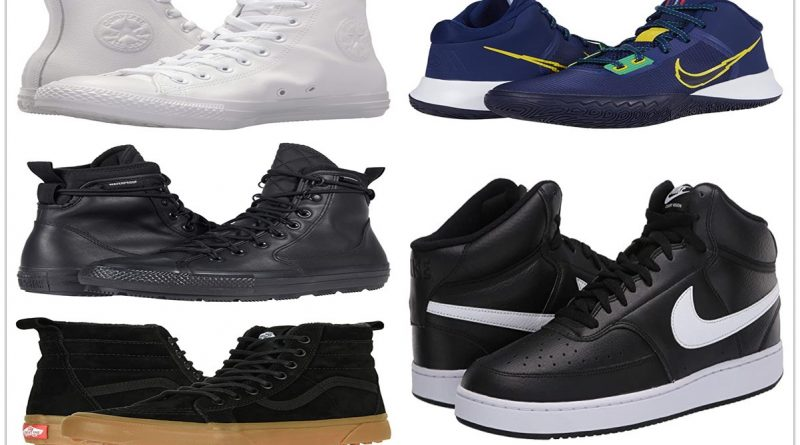 7 HIGH TOP SNEAKERS FOR A COMFORTABLE PATH 800x445 - 7 High Top Sneakers For A Comfortable Path