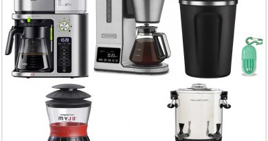 9 Enjoyable Cups Coffee Makers Lighting Your Coffee Break 390x205 - 9 Enjoyable Cups & Coffee Makers Lighting Your Coffee Break