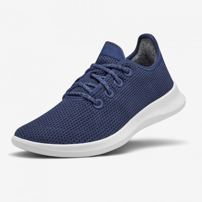 Allbirds TR RN SF PDP Kauri Marine BTY c091e6f8 80af 4de0 9d0d 13c21fa7bc2e 768x768 - 10 Woman's Running Shoes & Flats For A Comfortable Way To Fitness