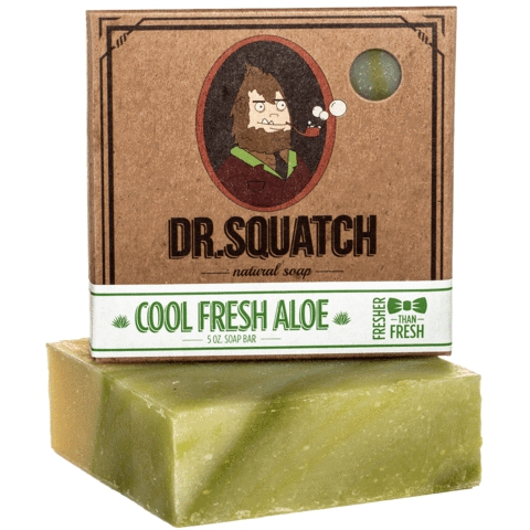 Cool Fresh Aloe 1 480x - Smell Like A Champion With These 7 Natural Soaps From Dr. Squatch