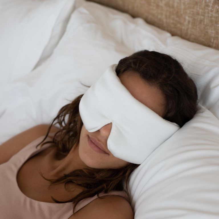 Lunya WashableSilkSleepMask Starlight 1 min 768x768 - Top 8 Nightwears For A Good Night Sleep