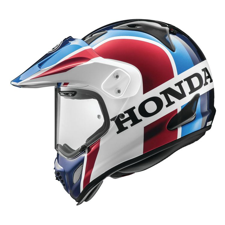 arai xd4 africa twin helmet blue red white 750x750 - 7 Helmets To Gift Yourself This Year