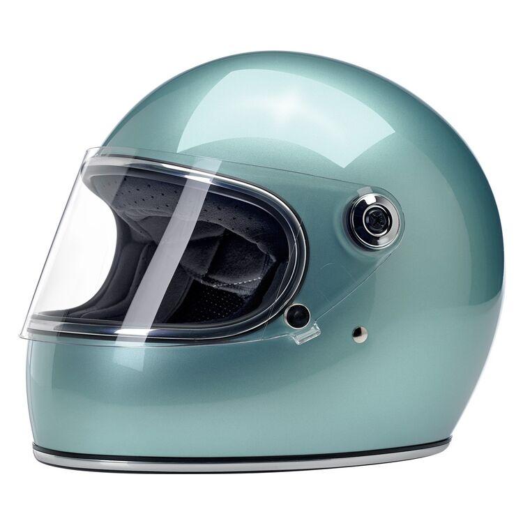 biltwell gringo sece helmet metallic sea foam 750x750 - 7 Helmets To Gift Yourself This Year