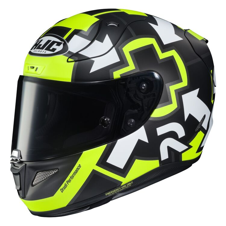 hjcrpha11 pro iannone2019 helmet black hi viz yellow 750x750 - 7 Helmets To Gift Yourself This Year