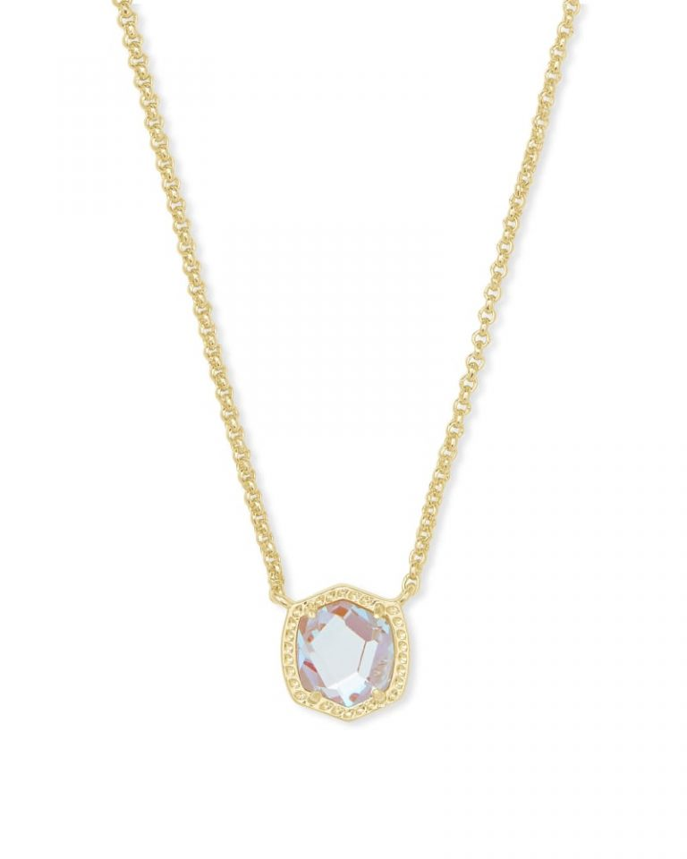 kendra scott davie pendant necklace gold dichroic glass 00 lg 768x960 - Necklaces Which Make Her Swoon Without A Hole In Your Pocket