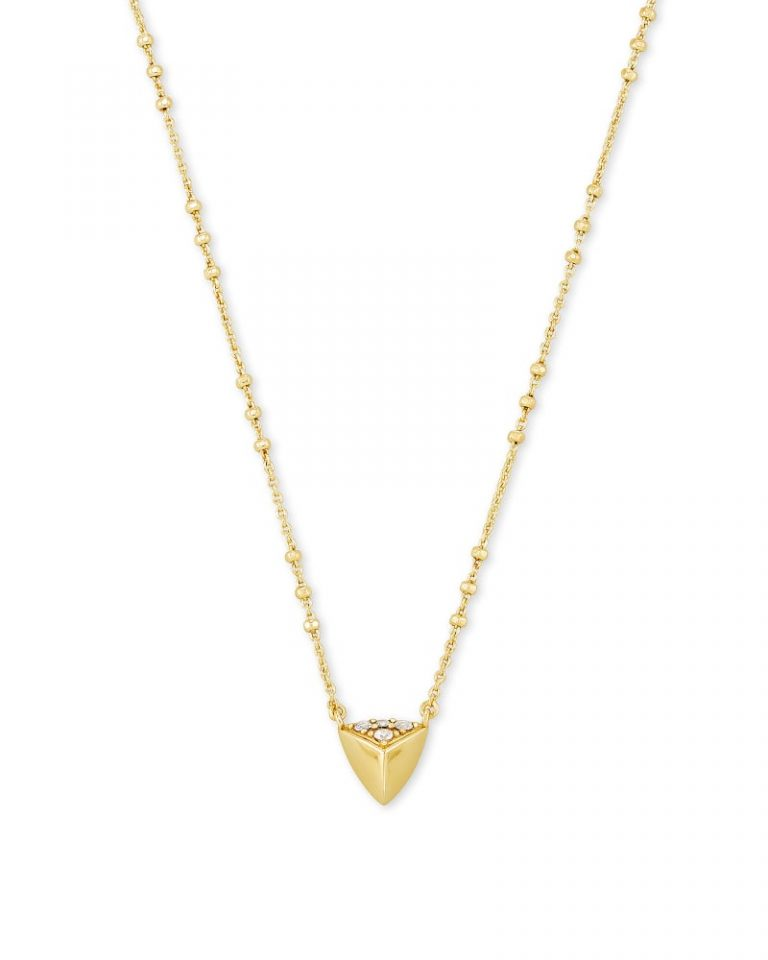 kendra scott perry metal short pendant necklace gold 00 lg 768x960 - Necklaces Which Make Her Swoon Without A Hole In Your Pocket