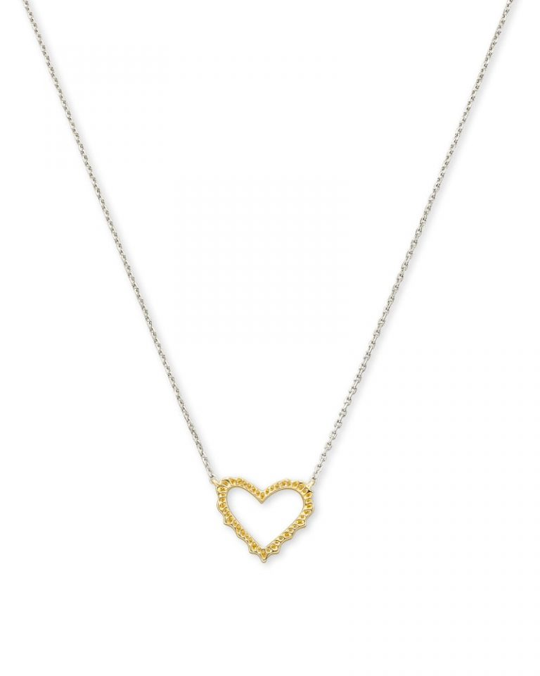 kendra scott sophee heart necklace mixed metal 00 lg 768x960 - Necklaces Which Make Her Swoon Without A Hole In Your Pocket