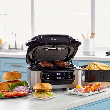 ninja foodi 5 in 1 indoor grill with air fry roast bake d 2020041515232823 701679 - 6 Indoor Grills That Deliver Delicious Results