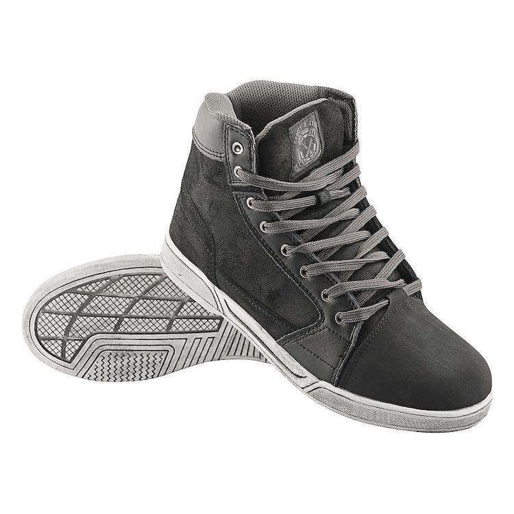 street steel kickstarter motorcycle shoes black 750x750 - 10 Motorcycle Riding Gears To Feel Superhuman