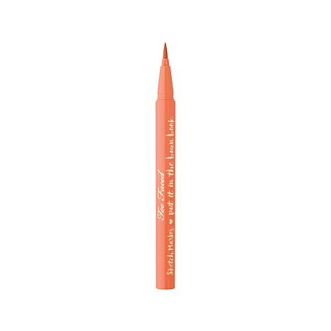 too faced sketch marker eyeliner papaya peach d 2016062017102079 494564 - 9 Mascara And Eyeliner That Will Beautify Your Eyes