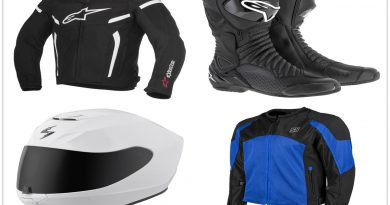 12 Motorcycle Riding Wear In Style 390x205 - 12 Motorcycle Riding Wear In Style