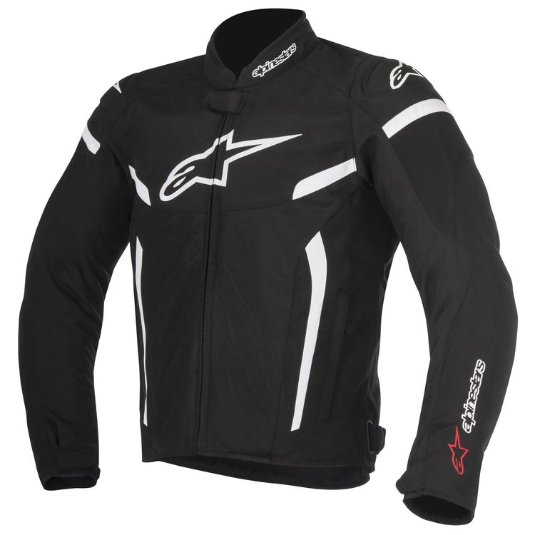 alpinestars jacket tgp air black white 750x750 - 12 Motorcycle Riding Wear In Style