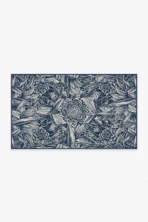 echeveria navy A RC FF007 35 720x720 - 10 Rugs for Small Areas You Simply Cannot Live without