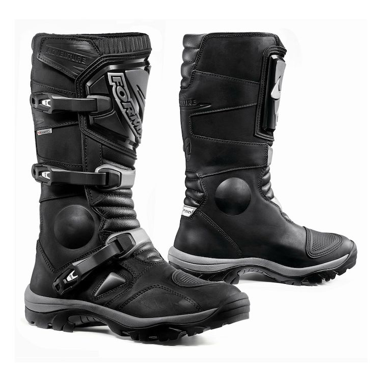 forma adventure boots black 750x750 - 12 Motorcycle Riding Wear In Style