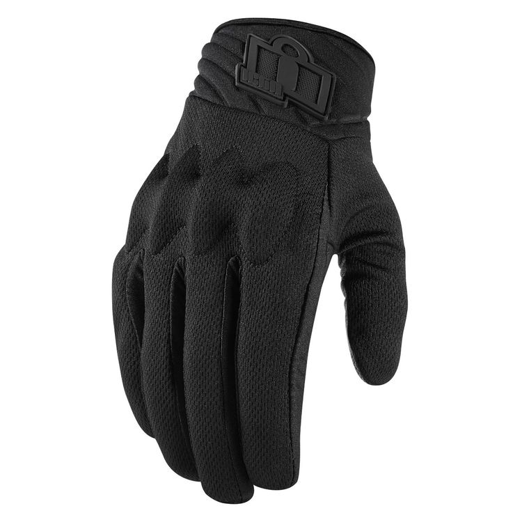 icon glove anthem2 stealth black 750x750 - 11 Stylish And Protective Riding Wear