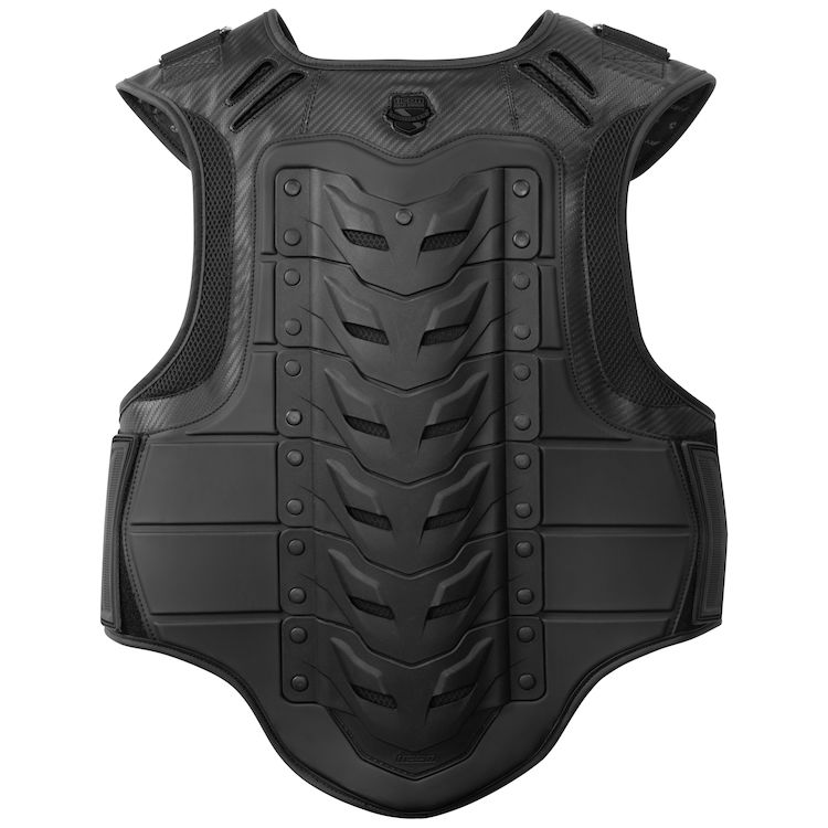 icon stryker vest stealth black 750x750 - 12 Motorcycle Riding Wear In Style