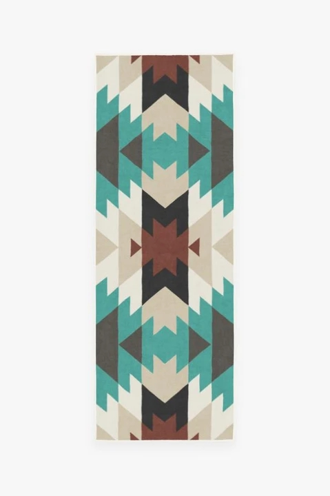 mariposa turquoise A RC 0708 27 50557c4f 2c03 477b 9c20 d91e706ae650 720x720 - 10 Rugs for Small Areas You Simply Cannot Live without