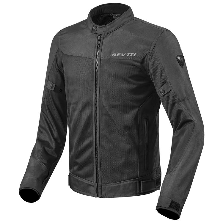 revit eclipse jacket black 750x750 - 11 Stylish And Protective Riding Wear