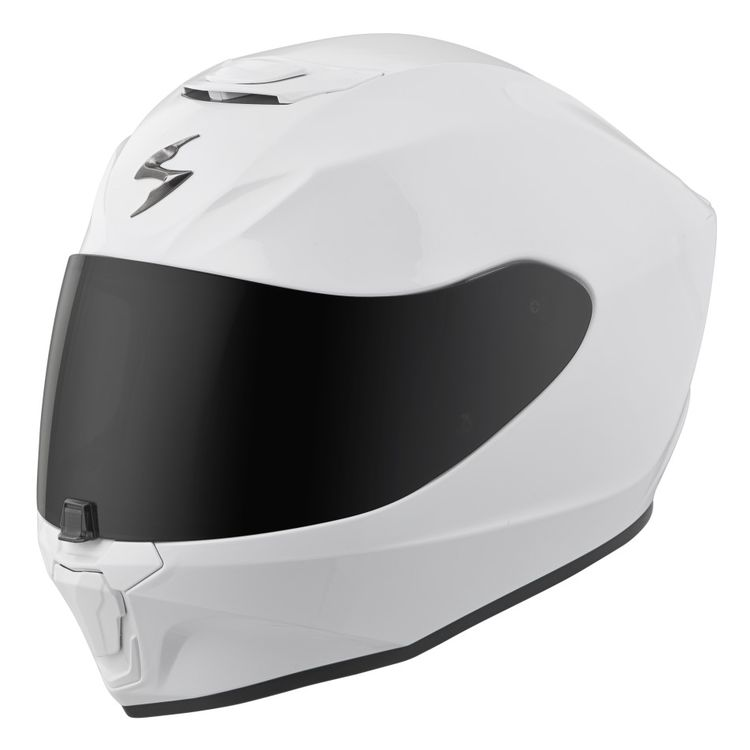 scorpion exo r420 white 750x750 - 12 Motorcycle Riding Wear In Style