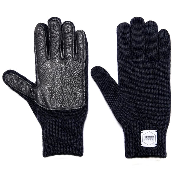 FXBuHjJtNV upstate stock full fingers ragg wool glove with black deerskin 0 original - 8 Gloves And Watch That Complements Men's Fashion